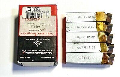 "Morse GL-12 Carbide Tipped Tool Bit C5 3//4/"" Shank 8/"" OAL USA Made 5 Pack 71063"