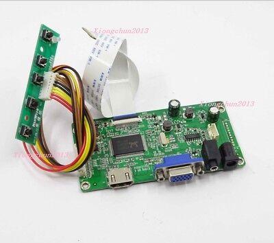 LTN156AT24-T01 For LCD LED screen Controller Board Driver TV+HDMI+VGA+AV+USB Kit