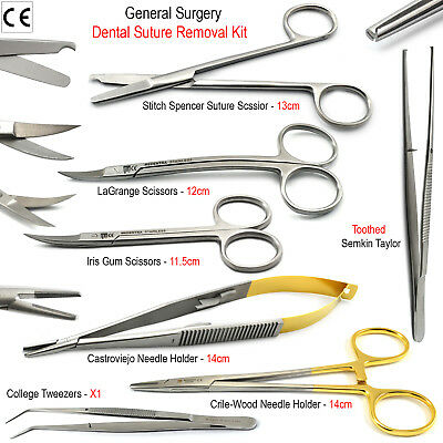 Small Animal Surgery Instruments Tc Needle Holders Surgical Scissors Veterinary 5394570169416 Ebay