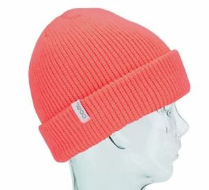 b172dea8189 Coal Headwear THE FRENA Unisex Fine Knit Cuffed Beanie Melon NEW ...