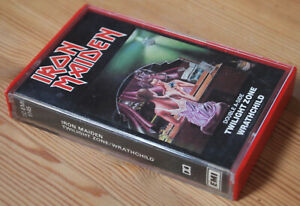 IRON-MAIDEN-TWILIGHT-ZONE-WRATHCHILD-EMI-TCEMI5145-1981-UK-CASSETTE-SINGLE