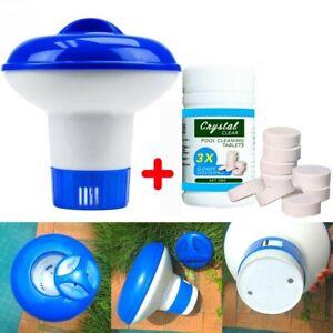 Pool-Cleaning-Tablet-Floating-Chlorine-Tub-Chemical-Dispenser-Cleaner