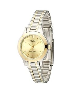 Casio-LTP1128G-9A-Ladies-Two-Tone-Stainless-Steel-Casual-Dress-Watch-Gold-Dial