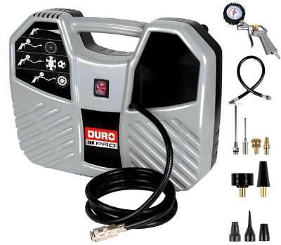 Schlussverkauf Duro D-ac 193 Tragbarer Kompressor 8 Bar Zubehörset Ölfrei Druckluftkompressor Wir Nehmen Kunden Als Unsere GöTter