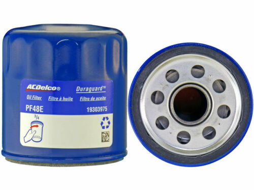 For 2007-2019 Chevrolet Silverado 2500 HD Oil Filter AC Delco 51984KN 2008 2009