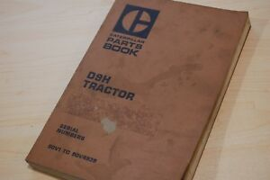CAT-Caterpillar-D9H-Tractor-Dozer-Crawler-Parts-Manual-Book-catalog-spare-OE-90V