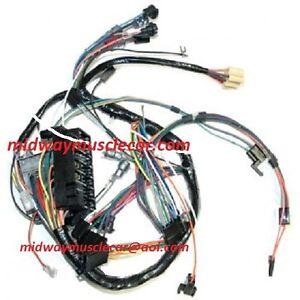 dash wiring harness 66 67 pontiac gto lemans tempest ebay. Black Bedroom Furniture Sets. Home Design Ideas