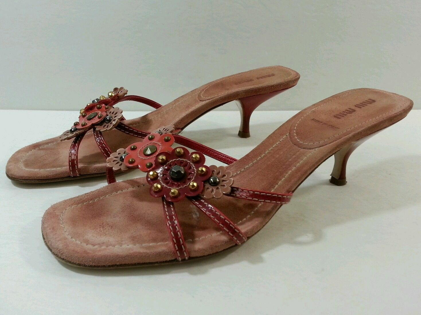 MIU MIU Beautiful Sandals - Size 40