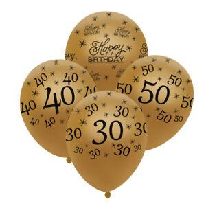 10PCS-12-034-Latex-Joyeux-Anniversaire-ballons-30-40-anniversaire-mariage-Party-Supplies