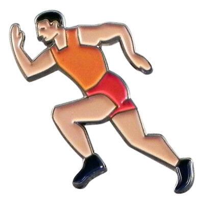 Lapel Pin Badge XJKB9-27 Athletic Runner Jog Metal Enamelled Pin Badge Tie Pin