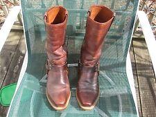 Men's sweet killler vintage 1960's -1970's 8D leather biker motorcycle boots A+