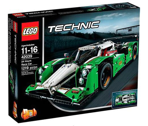 Lego Technic 24 horas Race Car (42039)
