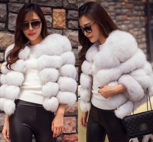 Manteau de fourrure femmes mode hiver luxe de de Outwear chaude autruche chaud veste plumes rS4Wnfra