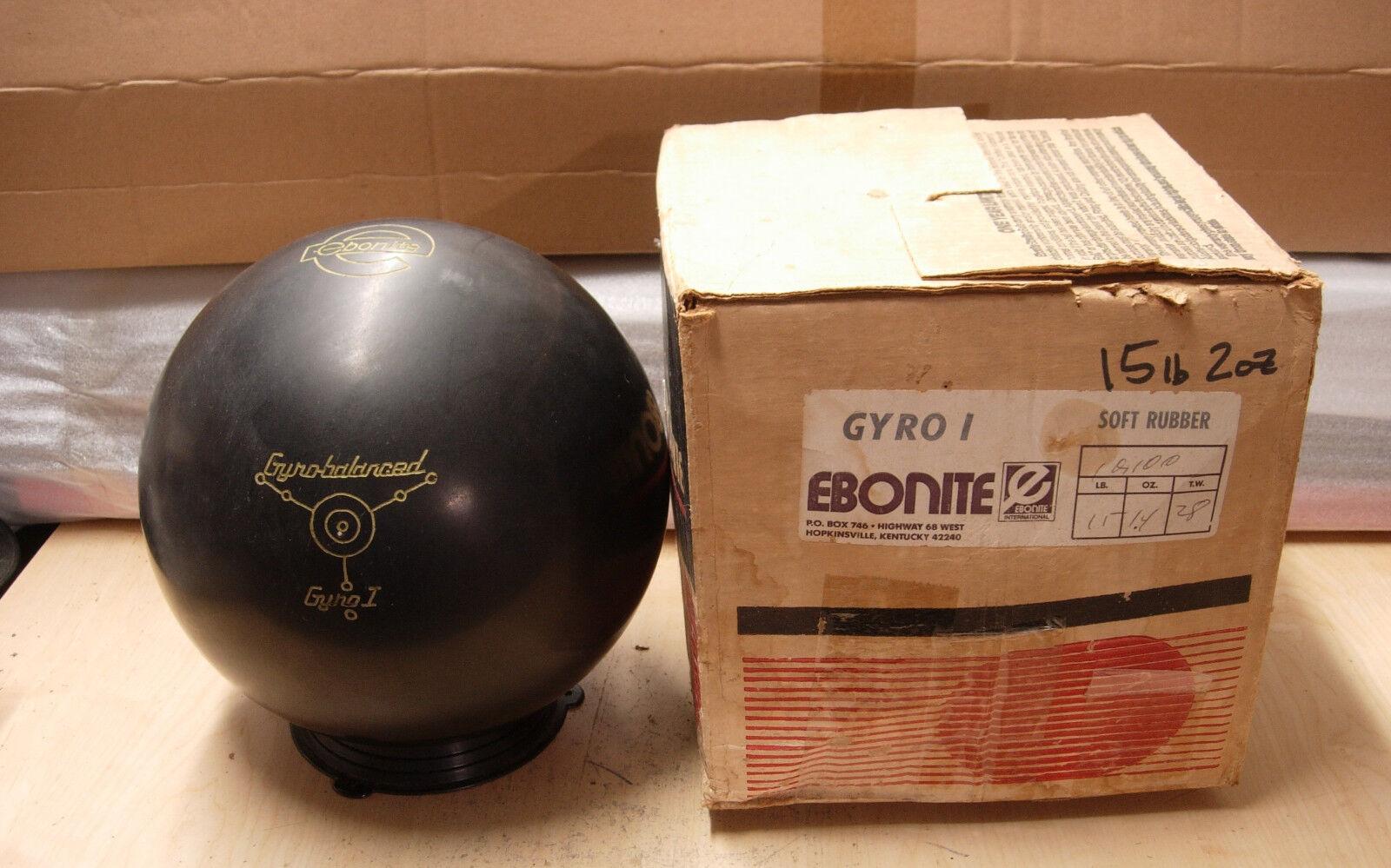 15OZTW 2.8 Ebonite Gyro I Soft Rubber NOS, NIB