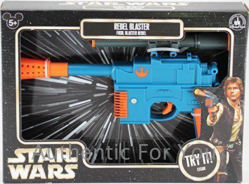 Star Wars Black Leather HOLSTER fits Disney ANH DL-44 Han Solo Blaster costume