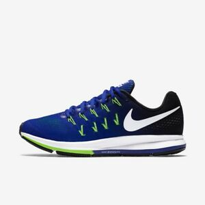new arrival 63a02 2ef68 Image is loading Nike-Air-Zoom-Pegasus-33-Concord-White-Mens-
