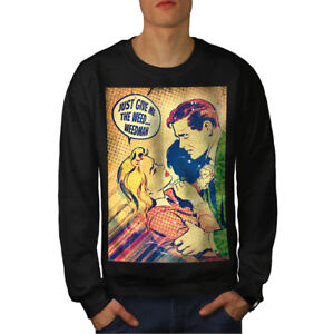 Me Give Now Nuevo Sudadera Weed The Negro Hombres qOBqT
