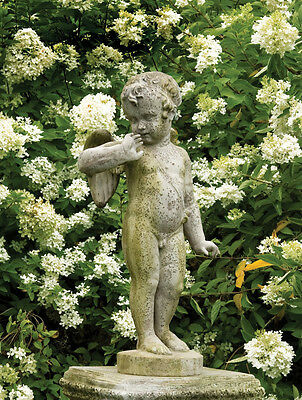 Vintage Style Chabby Chic Angel Outdoor Garden Statue Orlandi Statuary FSAK190