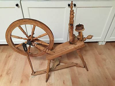 Antique Spinning Wheel | eBay