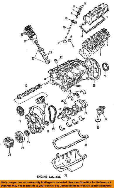 Ford OEM 93-97 Aerostar-engine Oil Pan F59z6675a for sale online | eBay | Aerostar Engine Diagram |  | eBay