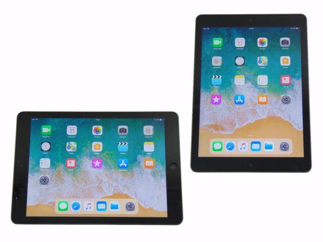 Apple iPad Air 32GB Refurbished WiFi Space Grey 1st Generation IOS