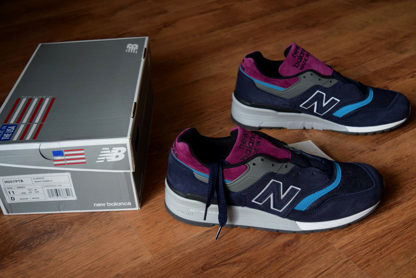 NEW Balance m997 42 44 45 made made made in USA CLASSIC PTB 997 576 998 999 m997ptb b2a039