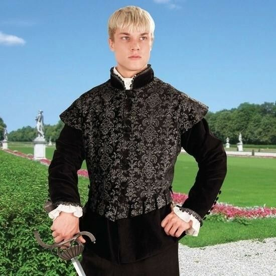 Aramis Renaissance Doublet, Ideal for Stage, Costume and Re-enactment or LARP