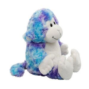 Snuggable Hottie Apto para Microondas Azul Fantasía Mono - de Felpa Calor Niños