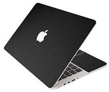 LidStyles BLACK CARBON FIBER Vinyl Laptop Skin Decal MacBook Pro 17 A1297