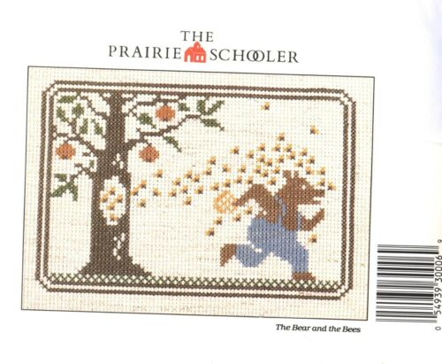 PRAIRIE SCHOOLER counted cross stitch charts Cardstock YOUR CHOICE new