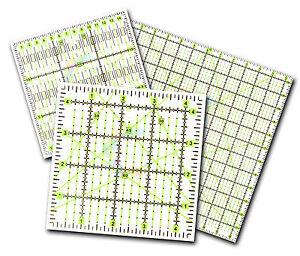 Acolchado-Patchwork-Regla-Premium-Rotatorio-Rectangulares-Triangulo-Cuadrado