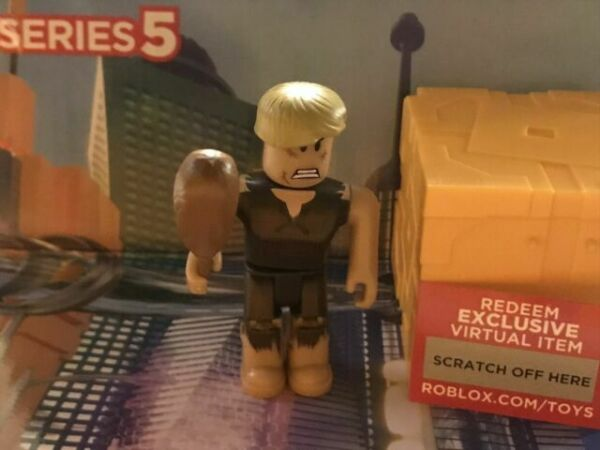 Roblox Weapon Kit Codes 2020 Loterman23 Roblox Mini Figure With Virtual Game Code Series 5 For Sale Online Ebay