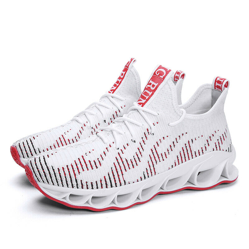 2019 New Hot Fashion Flying Weaving Low Top Running shoes Breathable Lightweight
