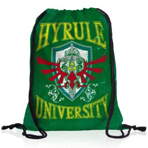 Hyrule University Rucksack Sportbeutel Turnbeutel Gym Beutel zelda link switch