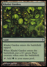 4x Giardino di Khalni - Khalni Garden MTG MAGIC WW Eng