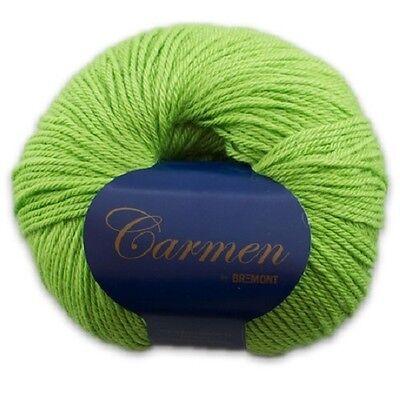 GP: 16,20€//100g 50g Bremont Alpakawolle Carmen Farbe 625