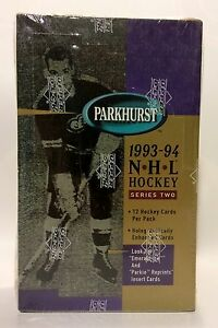 1993-Parkhurst-series-2-NHL-Hockey-Card-Box-36-packs-Factory-Sealed