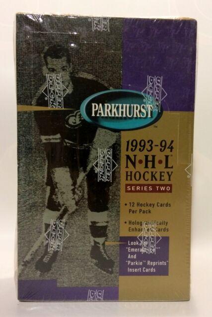 1993 Parkhurst series 2 NHL Hockey Card Box 36 packs Factory Sealed