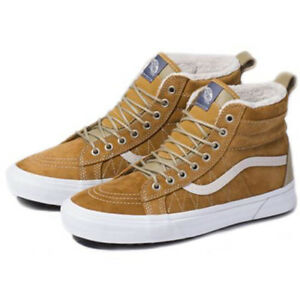 45da39638c Image is loading Vans-Sk8-HI-MTE-Cumin-Brown-Fur-lined