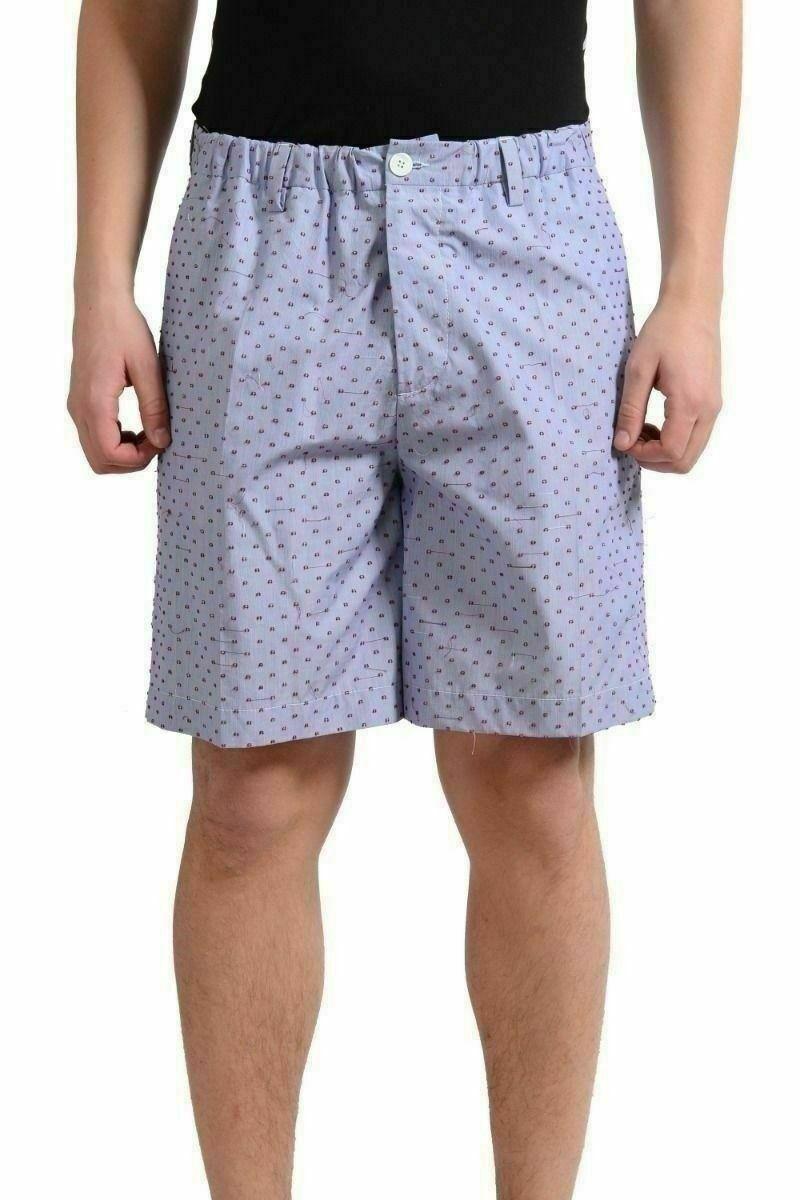 Dsquared2 Men's Purple Dot Casual Shorts US 32 IT 48