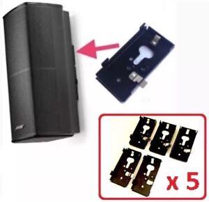 5-New-Bose-SlideConnect-WB-50-Wall-Brackets-WB50-Black-aka-UB20-II-UB-20