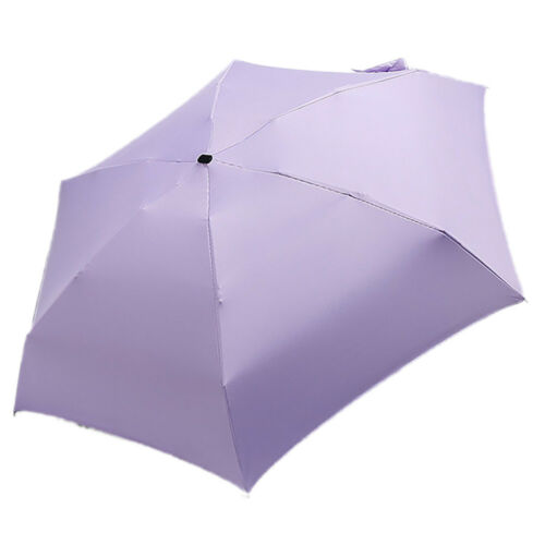 Fashion Portable Folding Rain Umbrella Women Mini Pocket Parasol Girls Anti-UV