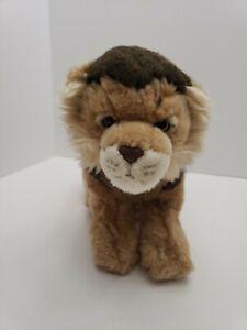 Ganz-Webkinz-SIGNATURE-Lion-Plush-No-Code-WKS1018-Realistic-Look-Lion-12-034-tail