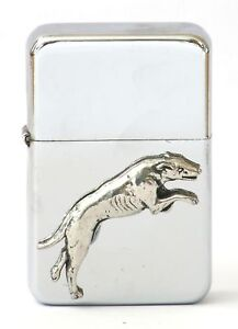 Greyhound Petrol Lighter FREE ENGRAVING racing Gift box