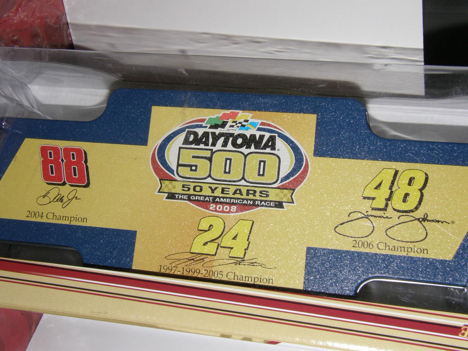 Daytona 500 commémorative 4 Voiture-Set Die-Cast  50 ANS. Action Figure