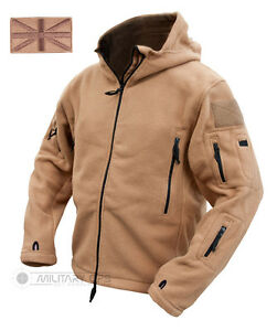 Image is loading TACTICAL-RECON-HOODIE-MILITARY-FLEECE-COYOTE-BEIGE-SPECIAL- 8fccb354b1a