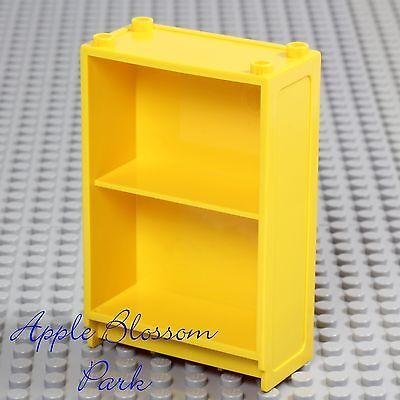 Girl Boy Elf Friends Story Bookcase Bookshelf LEGO Minifig Yellow BOOK SHELF