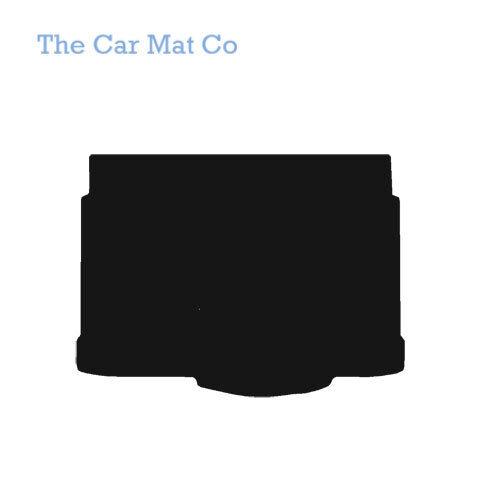 Vauxhall Corsa E 2014-Present Fully Tailored Black Car Carpet Boot Mat