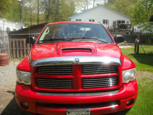 2004 dodge ram 4x4 safetied original body and paint.