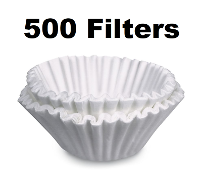 "13"" X 5"" Filter For 20100.0000 Bunn Tea Brewer Filter 500 Case"
